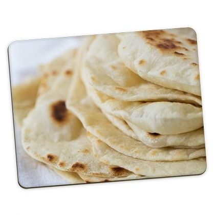 Personalised Photo Placemats - Homemade Flour Tortillas