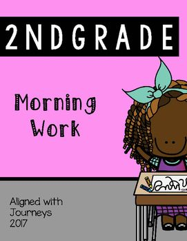 Second Grade Morning Work Aligned with common core standards AND Indiana Standards Corresponds with Journeys 2017 Edition Whats included: Daily Handouts that Correspond with the 2017 edition of Journeys reading skills for the entire second unit. Unit 1 Week 1 includes 5 days of daily practice that can be used a includes 5 weeks of daily practice that can be used as morning work/homework/extra practice.
