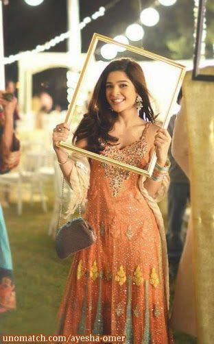 Ayesha omer bulbulay dresses 2013
