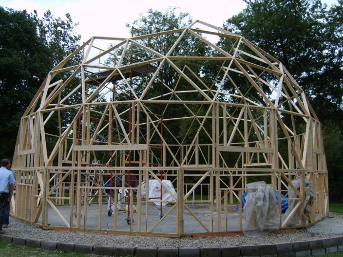 17 Best Images About Geodesic Structures On Pinterest