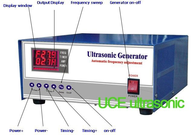 390.00$  Watch more here  - 120KHZ/1200W High Frequency ultrasonic Generator,120khz ultrasonic frequency generator,ultrasonic generators for sale