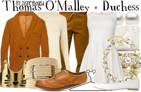 Disneybound: Thomas O'Malley + Duchess #couple Never seen this before but I'm soooo in love with the color combo idea!!!