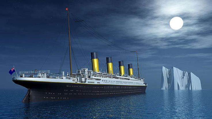 """Der Untergang der """"Titanic"""" Der Untergang des britischen Riesendampfers """"Titanic"""" (Bild) auf seiner Jungfernreise 1912 gilt als das größte Schiffsunglück in Friedenszeiten. Das Passagierschiff der britischen Reederei White Star Line war zu seiner Zeit das größte Schiff der Welt. Es war für den Liniendienst auf der Atlantikroute von Southhampton nach New York vorgesehen und sollte völlig neue Maßstäbe im Reisekomfort setzen. Doch auf ihrer Jungfernfahrt kollidierte die """"Titanic"""" am 14. April…"""