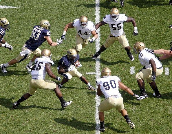 NCAA Football Betting: Free Picks, TV Schedule, Vegas Odds, Notre Dame Fighting Irish vs. Pittsburgh Panthers, November 7th 2015