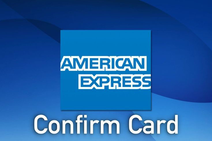 Get An American Express Confirm Card Online