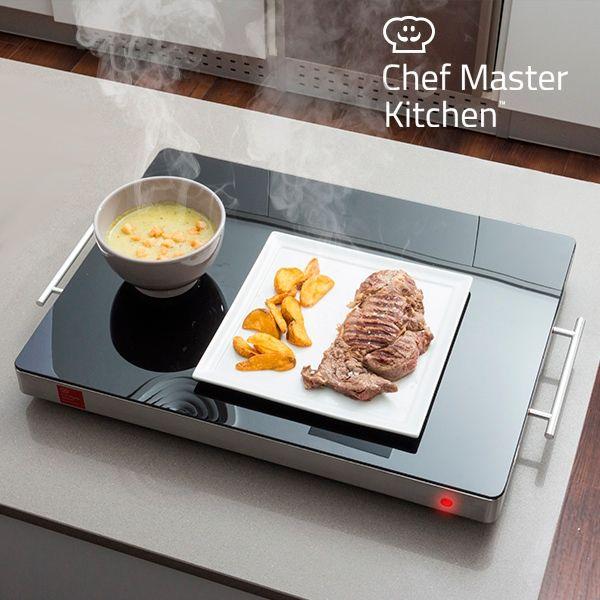 CHEF MASTER KITCHEN FOOD WARMING PLATE