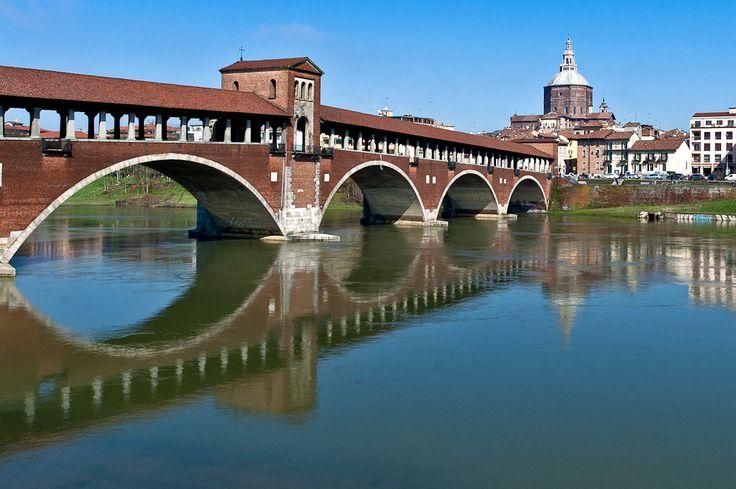 Ponte coperto - Pavia - Lombardia, Italy