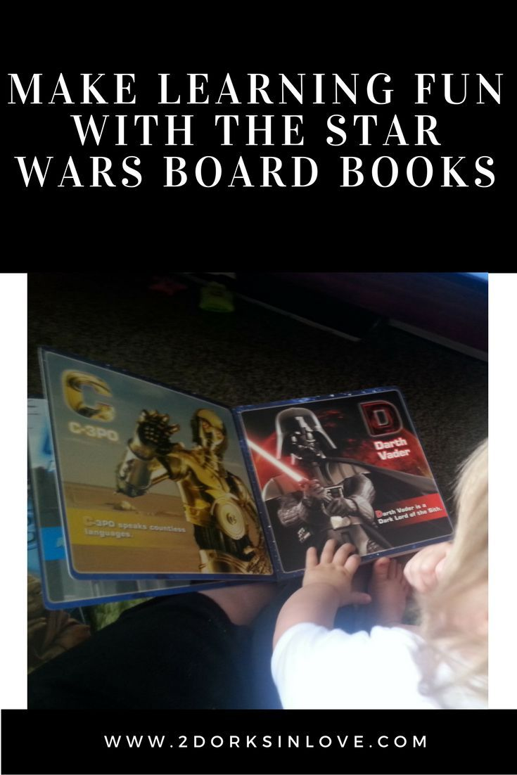 Make Learning Fun and Geeky with the Star Wars Board Books