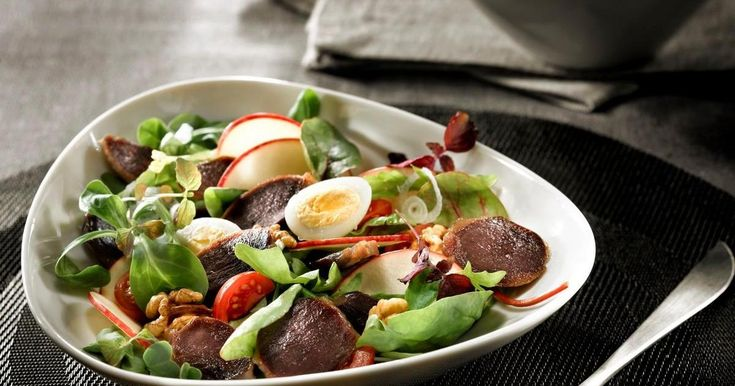 Recette - Salade de gésiers de canard confits lafitte et pomme fraîche | 750g