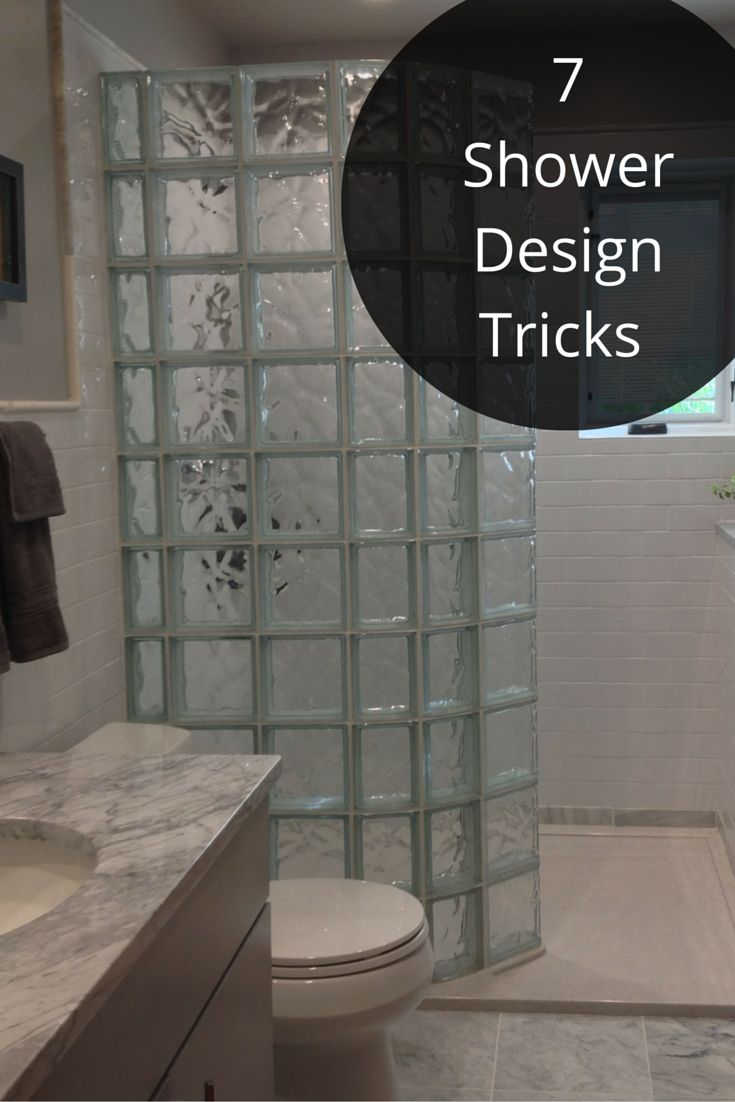 7 shower design tricks this isn t your fathers shower for Small bathroom designs bangalore