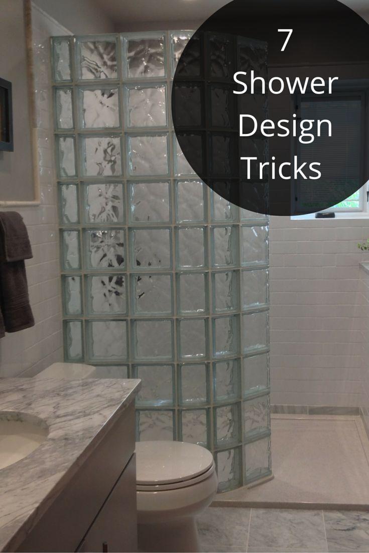 25 Best Ideas About Glass Block Shower On Pinterest