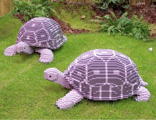 Awesome LEGO Creations - Lego Tortoises - Click Pic for 25 #lego #party #ideas DONE!!                                                                                                                                                     More