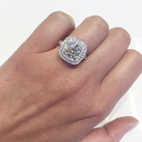 25 best ideas about double halo engagement ring on pinterest. Black Bedroom Furniture Sets. Home Design Ideas