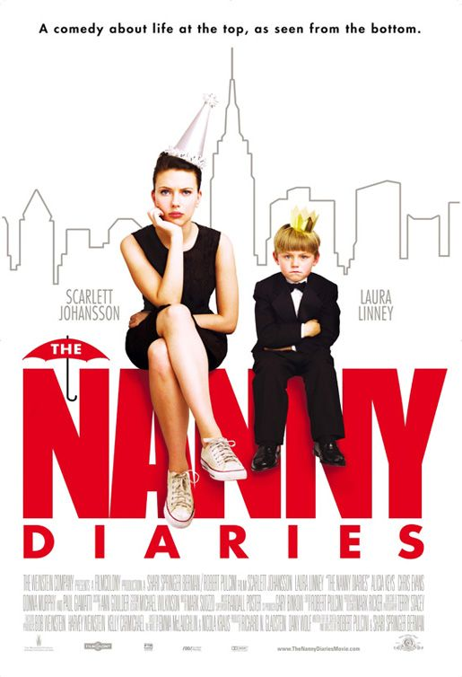 """The Nanny Diaries - 3/15/15 - """"A college graduate goes to work as a nanny for a rich New York family. Ensconced in their home, she has to juggle their dysfunction, a new romance, and the spoiled brat in her charge."""" The preview made this movie look like a terrible formulated RomCom which is why I never saw it even though I loved the book. Thank goodness it was completely misrepresented. I really liked it. And it made me miss my kiddos I used to nanny."""