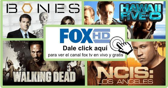 Aquí puedes ver el canal fox tv en vivo, online, gratis y en HD. Sin esos molestos avisos de publicidad.