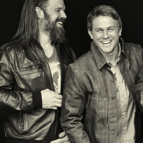 Ryan Hurst & Charlie Hunnam. #SOA #obsession