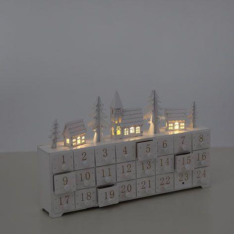 CALENDRIER DE L'AVENT BLANC - Cette Semaine - Nouveautés | Zara Home Belgique --- réf. 40916060 /// 35,99 €
