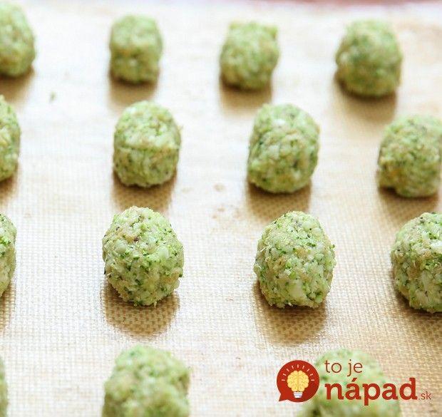 Nechcú vaše deti jesť zeleninu? Pripravte im z brokolice tieto výborné chuťovky, brokolicové kúsky bez vyprážania.