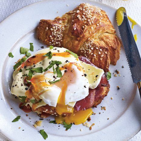 New recipe book Dirty Food gives us the Paris Style Eggs Benedict and OMG