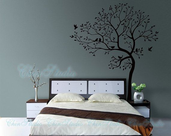 Tree Wall Decals Wall StickersLiving room wall by ChinStudio, $65.00