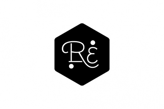 Logo Designs on the Behance Network  Tagged type, logo, white, black, hexagon, relax, estate, kelava