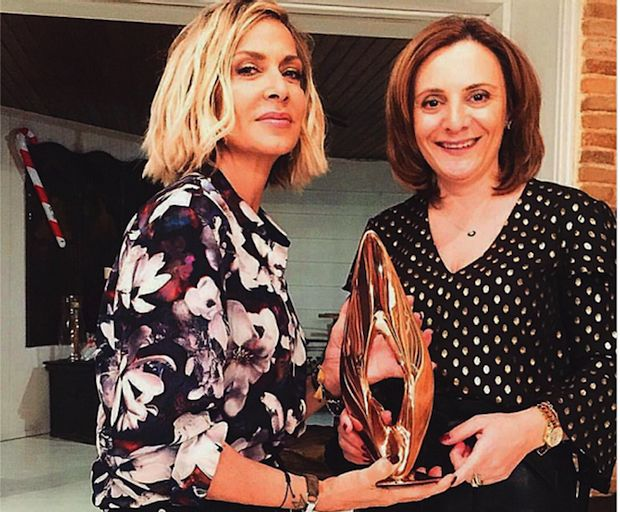 Η Άννα Βίσση βραβεύτηκε στα πρώτα Greek International Women Awards