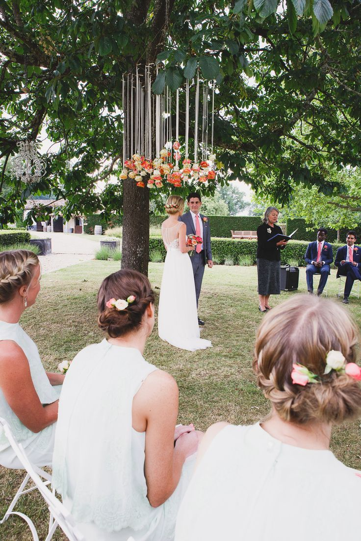 171 best images about outdoor wedding altar ideas on for Outdoor hanging ornaments