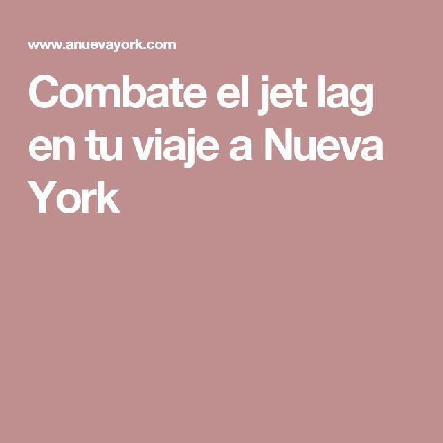 Combate el jet lag en tu viaje a Nueva York