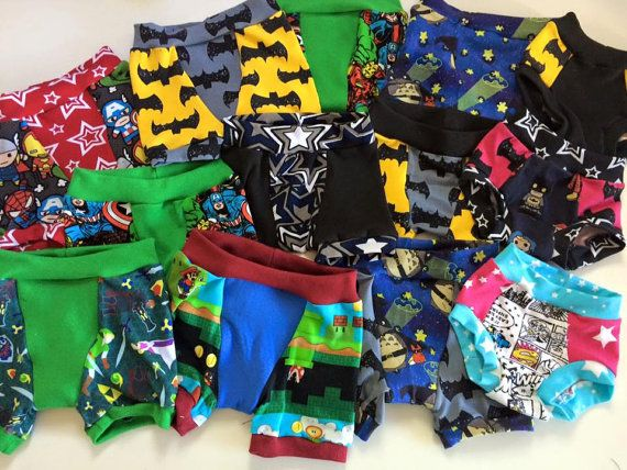 Toddler Training Pants Potty Training Cloth by 3LittleSnowflakes