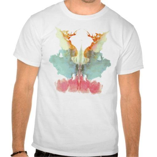 Placa 9 das manchas de tinta do teste de Rorschach T-shirt