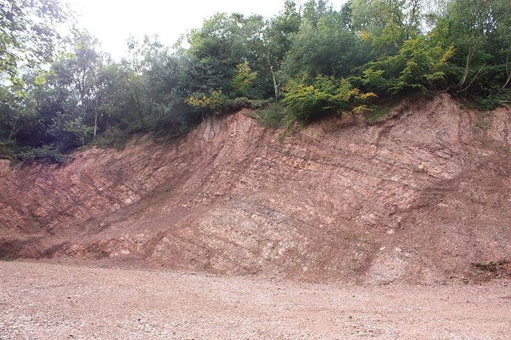 File:Quarry cutting, Bilberry Hill.JPG