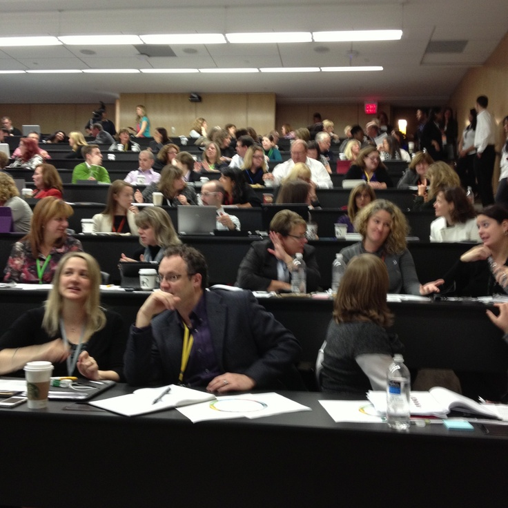 Impact99 Social Workplace HR summit attendees - http://impact99.ca