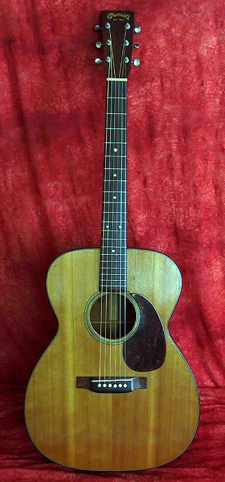 Martin 1946 000-18 Acoustic, Natural Finish, Brazilian Rosewood Fingerboard Musical Design Project Info: MaritimeVintage.com