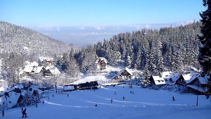 Zima w Karpaczu.