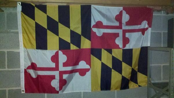 flag maryland