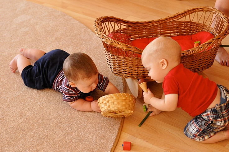 Simple, natural toys so babies can have good, extended floor time without chewing on toxic plastics is so important.  -Angelina soul-centered-parenting.com