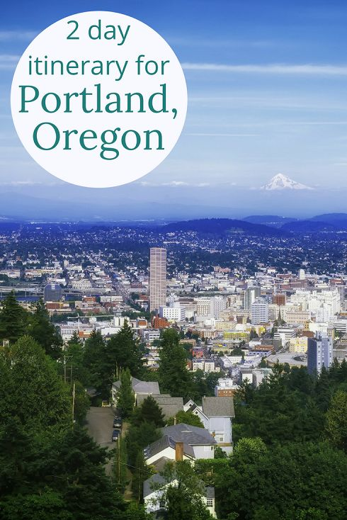 Adoration 4 Adventure's 2-day budget itinerary for Portland, Oregon, U.S.A. including Washington Park, Multnomah Falls, local breweries, and restaurants.