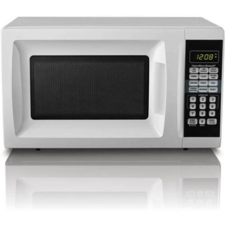 Hamilton Beach 0.7 cu ft Microwave Oven Countertop Kitchen Digital New 700w Led #HamiltonBeach