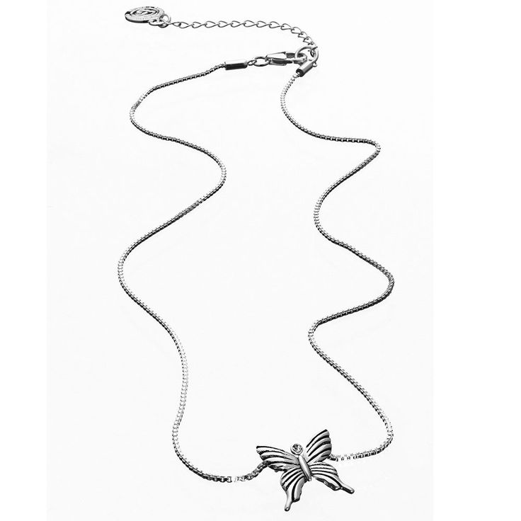 Butterfly Halsband Mother, S, Sterling Silver, Carolina Gynning