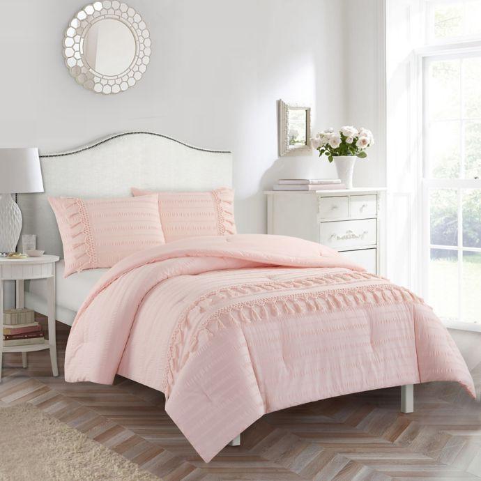 american kids ava comforter set  bed bath  beyond  pink