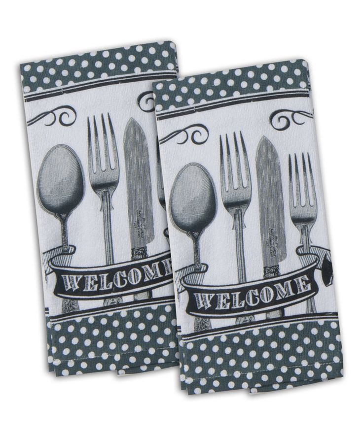 Spoonful of Life Terry Towel – Set of Two