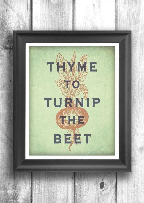 Typographic Print Inspirational Poster Wall Decor Kitchen Art Digital Print Quote
