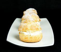 Gordon Ramsay Desserts, profiterole, cream puff recipe, recipe for profiteroles