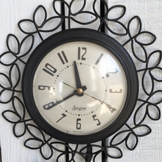 Retro Electric Kitchen Wall Clocks: 1000+ Images About Very VTG Kitchen Clocks On Pinterest