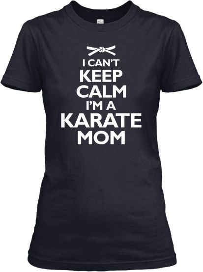 Limited Edition Calm Karate Mom Tshirt. Just bought this t shirt!
