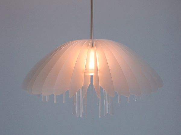 Jelly Fish Lamp Prototype from Erdem Design.