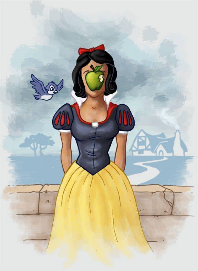 Magritte Snow White