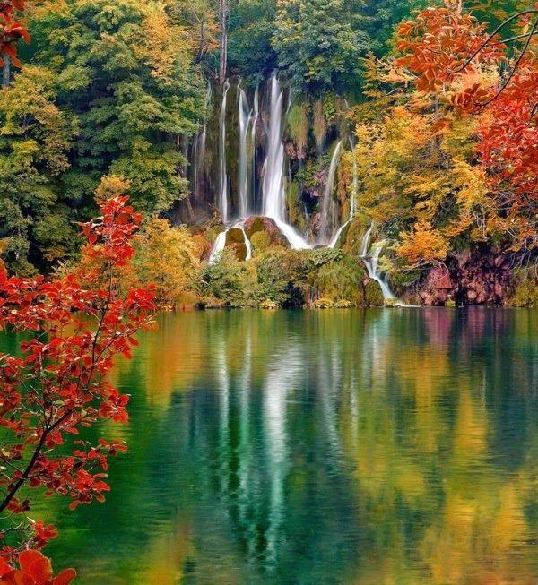 Autumn in Plitvice Lakes, Croatia