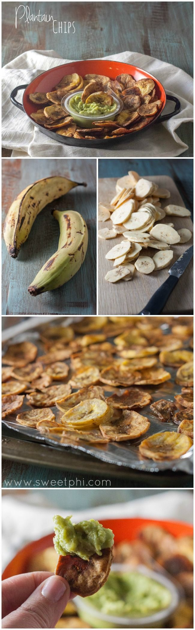 2 ingredient plantain chips, super crispy plantain chips, how to make plantain chips, whole30 plantain chips, whole30 recipe #plantainchips #plantains