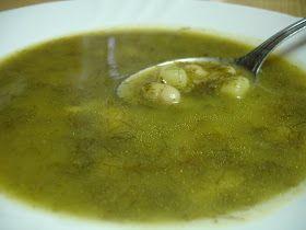 Receitas ao Desafio: Sopa de Funcho